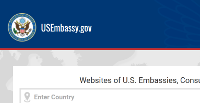 Thumbnail of the official website of the department of state